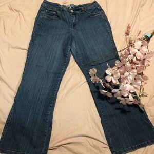 Just my size modern bootcut jeans 16W bluestone 👖